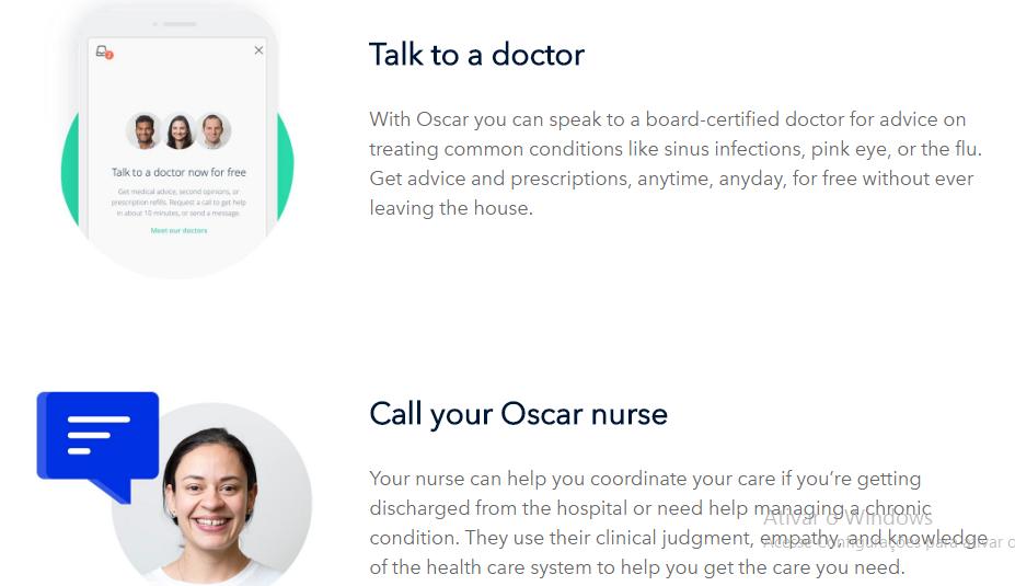 Oscar Health e o atendimento da equipe de saúde da operadora
