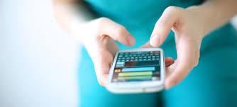 Mensagens no celular
