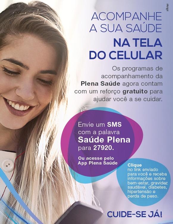 Folheto da Plena Saúde para seus pacientes