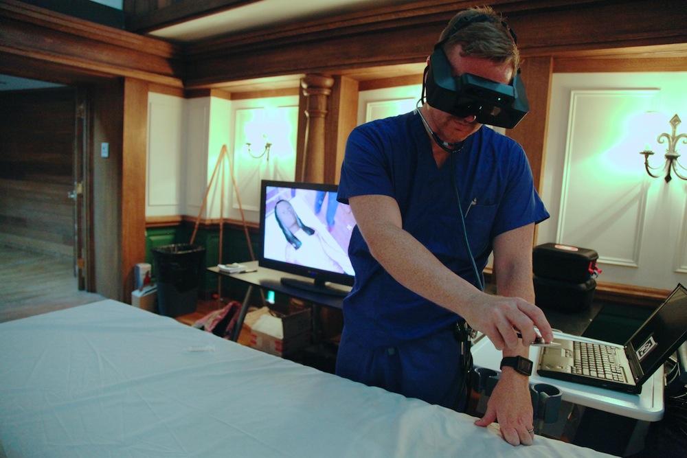 Uso de VR para treinamento médico