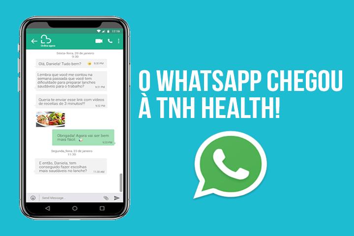 WhatsApp para saúde